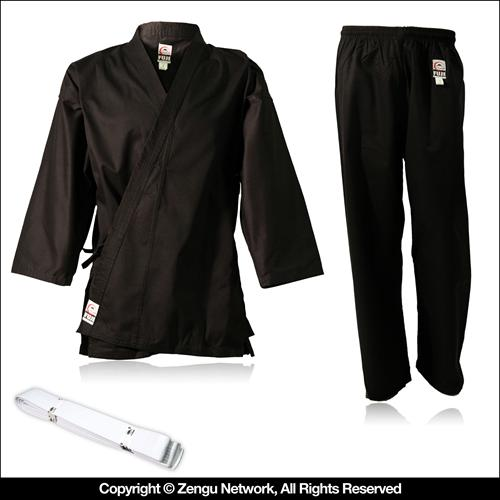 Fuji Student Black Martial Arts Uniform